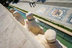 Parc des Bastions in Genève, Zwitserland Stock Afbeeldingen