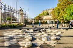 Parc des Bastions in Genève, Zwitserland - HDR royalty-vrije stock afbeeldingen