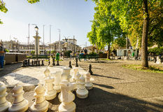 Parc des Bastions in Geneva, Switzerland - HDR. Stock Images
