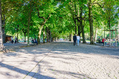 Parc des Bastions in Geneva, Switzerland - HDR. Royalty Free Stock Photo