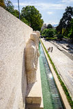 Parc des bastiony w Genewa, Szwajcaria zdjęcie stock