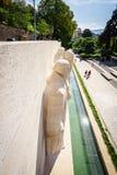 Parc des bastiony w Genewa, Szwajcaria obraz stock