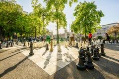 Parc des bastiony w Genewa Szwajcaria, HDR, - zdjęcia royalty free