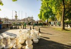 Parc des bastiony w Genewa Szwajcaria, HDR, - obrazy stock
