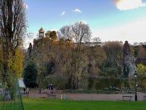Parc des Buttes Chaumont obrazy royalty free