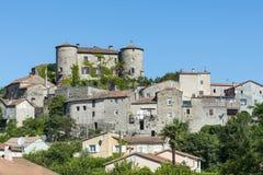 Parc des Cevennes, historic town Royalty Free Stock Image