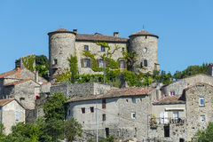 Parc des Cevennes, historic village Stock Photo