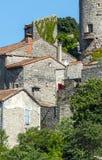 Parc des Cevennes, historic village Stock Images