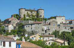 Parc des Cevennes, historisch dorp stock foto's