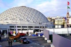 The Parc des Expositions de la Porte de Versailles (Paris Expo Versailles) Stock Images