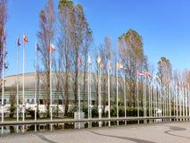Parc des nations, à Lisbonne photo stock
