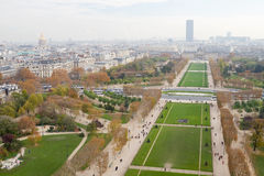 Parc Du Champ De Mars, Paris Stock Photos