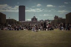 Parc du Champs de Mars, Parigi Fotografia Stock Libera da Diritti