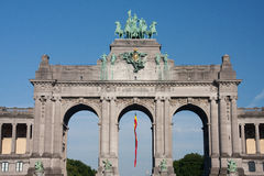 Parc du cinquantenaire Royalty Free Stock Images
