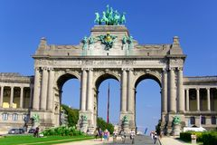 Parc du Cinquantenaire photos stock