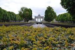 Parc du Cinquantenaire Royalty-vrije Stock Foto