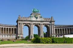 Parc du Cinquantenaire in Brussels, Belgium Stock Photos
