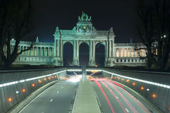 Parc du Cinquantenaire, Jubel Park, Brussels Royalty Free Stock Photo