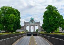 Parc du Cinquantenaire royalty free stock image