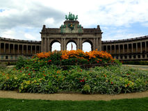 Parc du Cinquantenaire Royalty Free Stock Photography