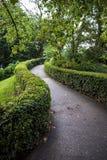 Parc du Jardin des Plantes dans l'automne Images libres de droits