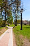 Parc du manoir de Tsaritsyno Image libre de droits