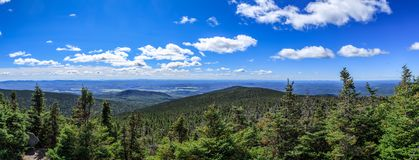 Parc du nacional Mont Mégantic fotos de archivo