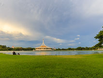 Parc du rama IX de luang de Suan, Photo stock