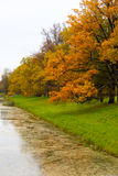 Parc du ` s de Catherine dans Tsarskoe Selo Photo libre de droits