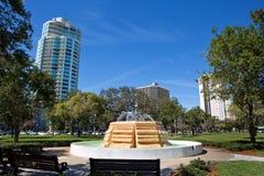 Parc du sud St Petersburg la Floride de Straub Photos libres de droits