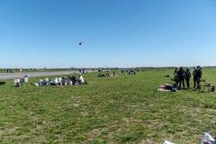 Parc du Tempelhof à Berlin, Allemagne images stock