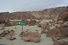 Parc EL-Teide national Image libre de droits
