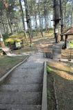 parc en partance Photographie stock