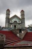 Parc et église de Zarcero Photographie stock libre de droits