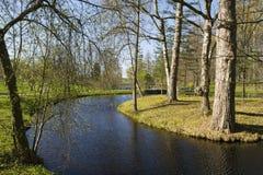 Parc et barrage image stock