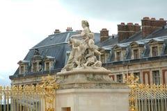 Parc et château de Versailles Photos libres de droits