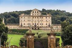 Parc et villa Aldobrandini dans Frascati, Italie Photo stock