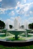 Parc extérieur de fontaine image libre de droits