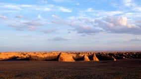Parc géologique national de Yadan Photos libres de droits