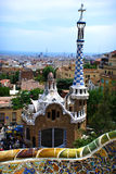 Parc Güell, Barcelona, Spain Stock Images