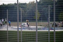 Parc Ginsheim de la jeunesse et de sports Images stock