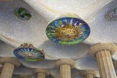 Parc Gueil - Barcelona - Spanien Royaltyfri Foto