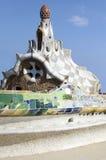 Parc Guell在巴塞罗那 免版税库存照片