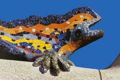 Parc Guell - Барселона - Испания Стоковое Изображение
