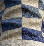 Parc Guell 11, Barcelona, Spanje Stock Afbeeldingen