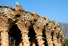 Parc Guell 库存图片
