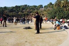 Parc Guell 图库摄影