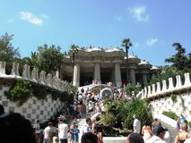 Parc Guell Obrazy Stock