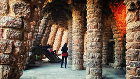 Parc Guell Photo stock