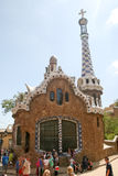 Parc Guell, Barcellona Immagine Stock